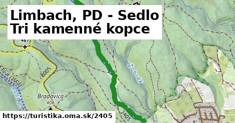 ilustračný obrázok k Limbach, PD - Sedlo Tri kamenné kopce