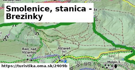ilustračný obrázok k Smolenice, stanica - Brezinky