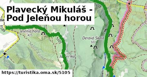 ilustračný obrázok k Plavecký Mikuláš - Pod Jeleňou horou