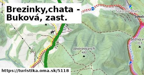 ilustračný obrázok k Brezinky,chata - Buková, zast.