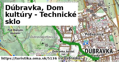 ilustračný obrázok k Dúbravka, Dom kultúry - Technické sklo