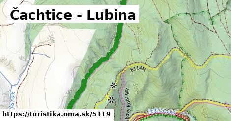 ilustračný obrázok k Čachtice - Lubina
