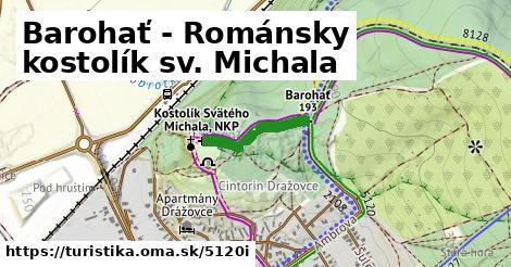 ilustračný obrázok k Barohať - Románsky kostolík sv. Michala
