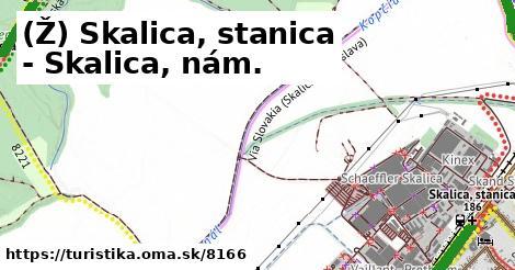 ilustračný obrázok k Skalica, stanica - Skalica, nám.