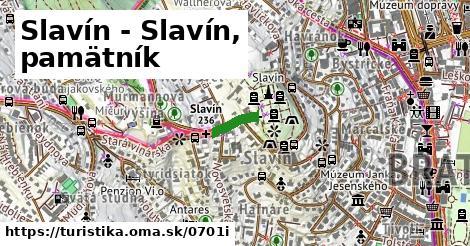 ilustračný obrázok k Slavín - Slavín, pamätník
