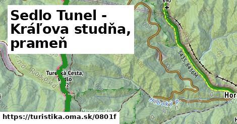 ilustračný obrázok k Sedlo Tunel - Kráľova studňa, prameň