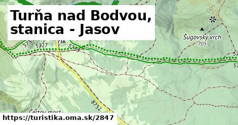 ilustračný obrázok k Turňa nad Bodvou, stanica - Jasov