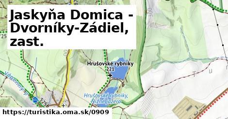 ilustračný obrázok k Jaskyňa Domica - Dvorníky-Zádiel, zast.