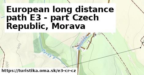 ilustračný obrázok k European long distance path E3 - part Czech Republic, Morava