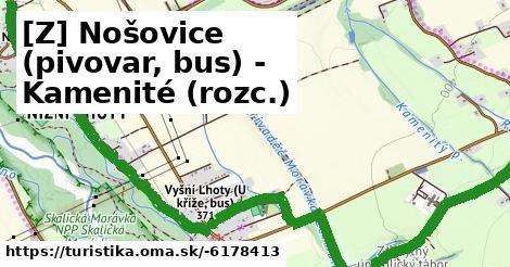 [Z] Nošovice (pivovar, bus) - Kamenité (rozc.)
