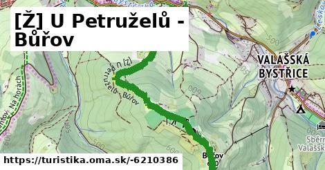 [Ž] U Petruželů - Bůřov