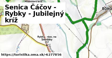 ilustračný obrázok k Senica Čáčov - Rybky - Jubilejný kríž