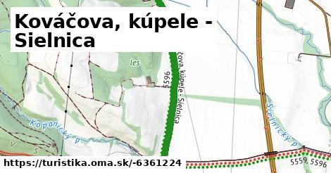 ilustračný obrázok k Kováčova, kúpele - Sielnica