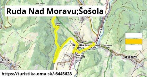 Ruda Nad Moravu;Šošola