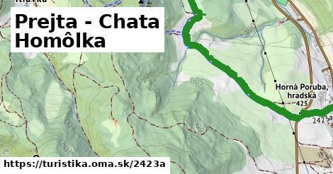 ilustračný obrázok k Prejta - Chata Homôlka