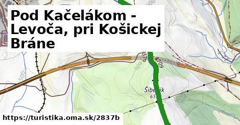 ilustračný obrázok k Pod Kačelákom - Levoča, pri Košickej Bráne
