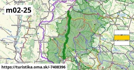 KM, Mária-út, M02-25 (Kemence – Márianosztra)