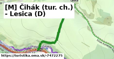 [M] Čihák (tur. ch.) - Lesica (D)