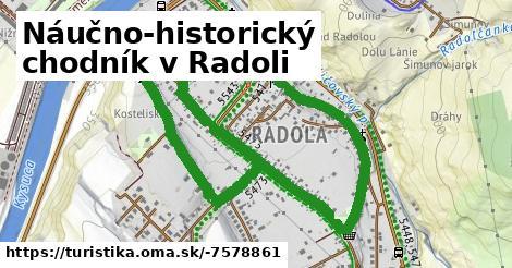 Náučno-historický chodník v Radoli