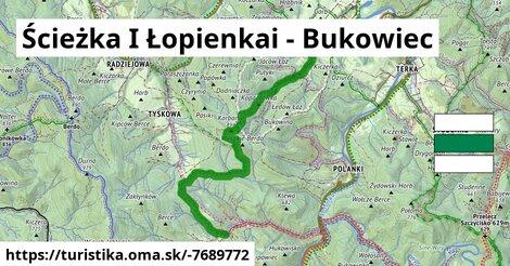 Ścieżka I Parking Polanki - Bukowiec