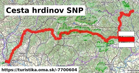 Cesta hrdinov SNP