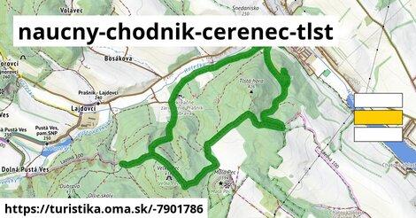 ilustračný obrázok k Náučný chodník Čerenec, Tlstá Hora, Malá Pec, Veľká Pec, Barónov hrob