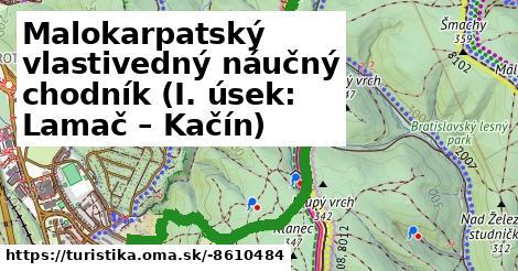 Malokarpatský vlastivedný náučný chodník (I. úsek: Lamač – Kačín)