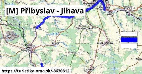 [M] Přibyslav - Jihava