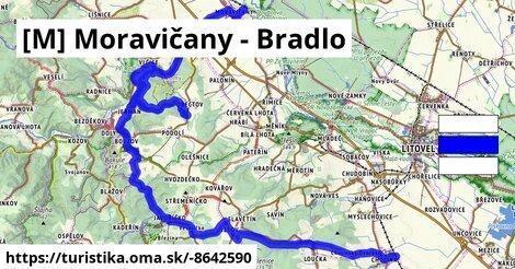 [M] Moravičany - Bradlo