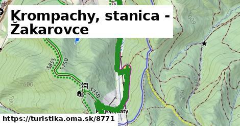 ilustračný obrázok k Krompachy, stanica - Žakarovce