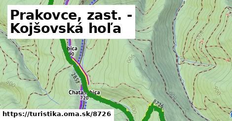 ilustračný obrázok k Prakovce, zast. - Kojšovská hoľa