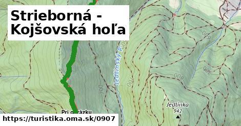 ilustračný obrázok k Strieborná - Kojšovská hoľa