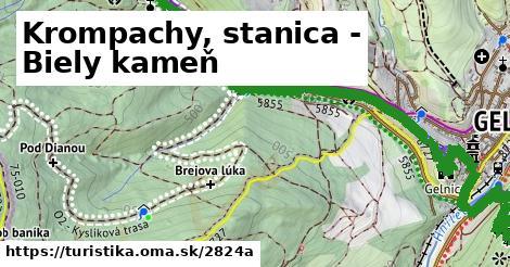 ilustračný obrázok k Krompachy, stanica - Biely kameň