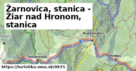 ilustračný obrázok k Žarnovica, stanica - Žiar nad Hronom, stanica
