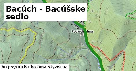 ilustračný obrázok k Bacúch - Bacúšske sedlo