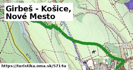 ilustračný obrázok k Girbeš - Košice, Nové Mesto