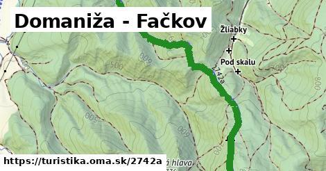 ilustračný obrázok k Domaniža - Fačkov