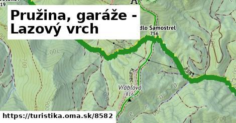 ilustračný obrázok k Pružina, garáže - Lazový vrch