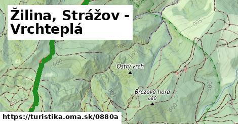 ilustračný obrázok k Žilina, Strážov - Vrchteplá