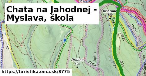 ilustračný obrázok k Chata na Jahodnej - Myslava, škola