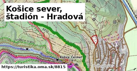 ilustračný obrázok k Košice sever, štadión - Hradová