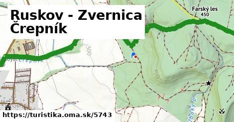 ilustračný obrázok k Ruskov - Zvernica Črepník