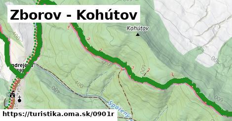 ilustračný obrázok k Zborov - Kohútov