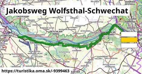 Jakobsweg Wolfsthal-Schwechat