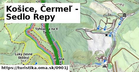 ilustračný obrázok k Košice, Čermeľ - Sedlo Repy