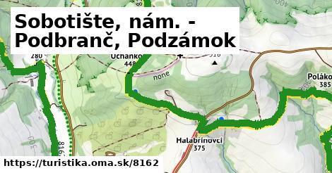 ilustračný obrázok k Sobotište, nám. - Podbranč, Podzámok