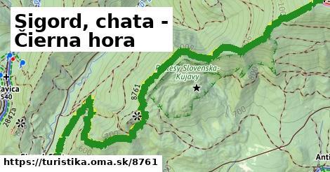 ilustračný obrázok k Sigord, chata - Čierna hora