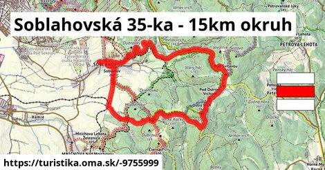 Soblahovská 35-ka - 15km okruh