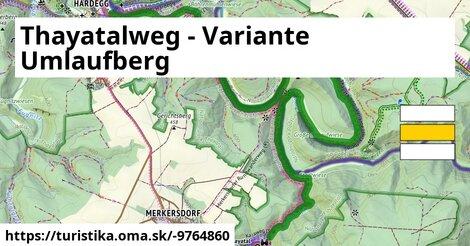 Thayatalweg - Variante Umlaufberg