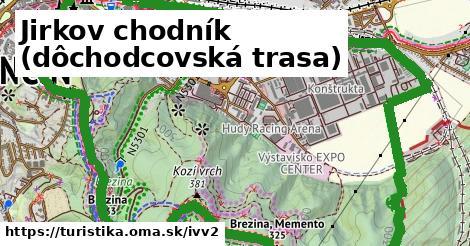 IVV2 - JIRKOV CHODNÍK (dôchodcovská trasa)